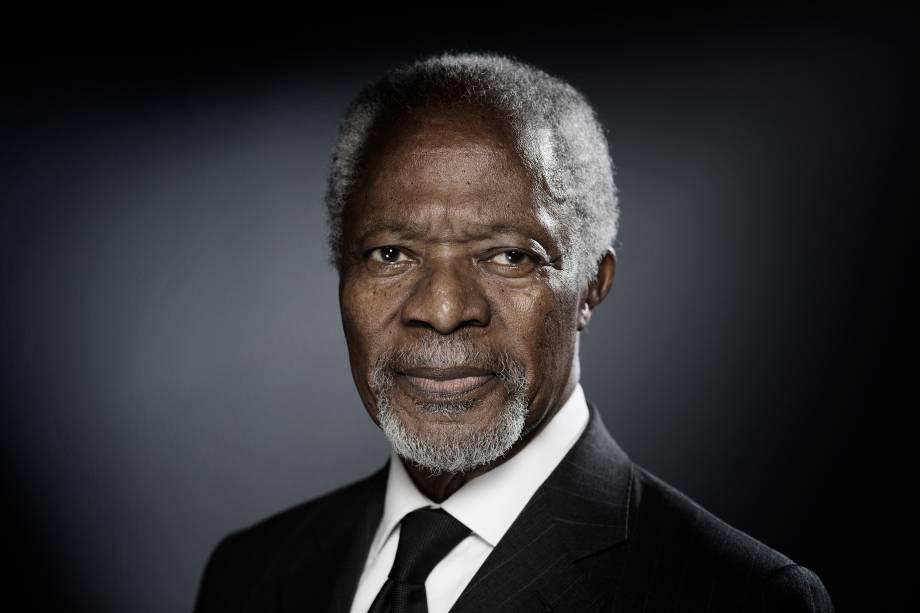 Vencedor do Prêmio Nobel da Paz,serviu como secretário-geral da Onu entre 1997 e 2006