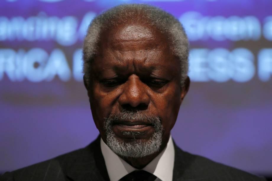 O ganense foi o sétimo secretário-geral e serviu por dois mandatos consecutivos