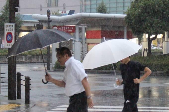 Tufão Cimarron se aproxima do Japão