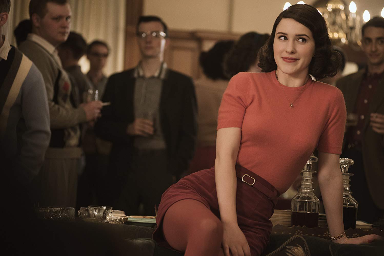 Rachel Brosnaham em 'The Marvelous Mrs. Maisel'
