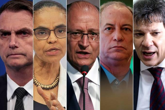 Candidatos à Presidência da República
