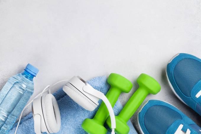 Equipamentos para a realização de atividade física