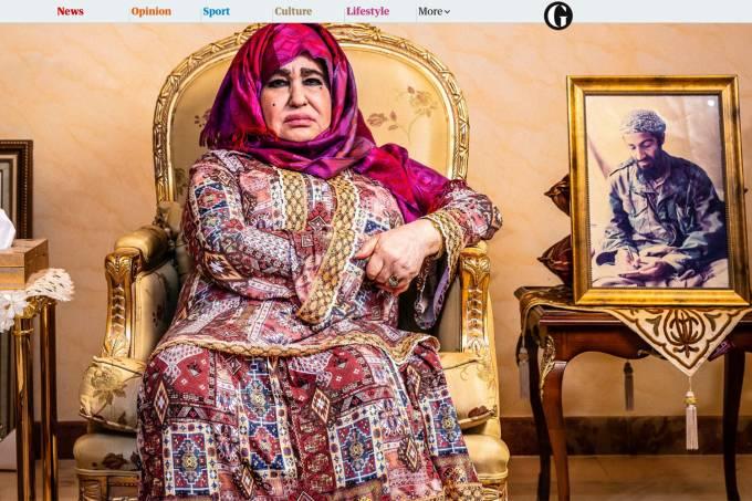 Alia Ghanem, mãe de Osama Bin Laden