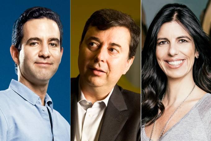 David Vélez, Fábio Coelho e Fiamma Zarife