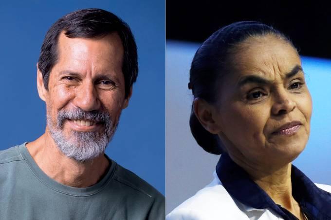 Eduardo Jorge e Marina Silva