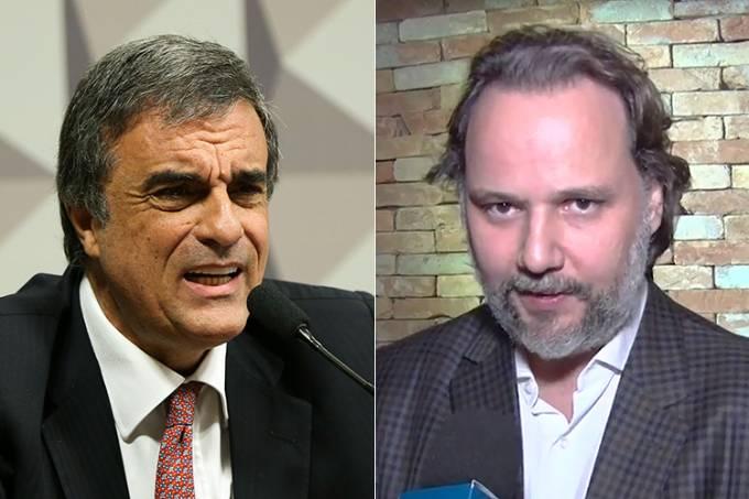 José Eduardo Cardozo e Marco Aurélio de Carvalho