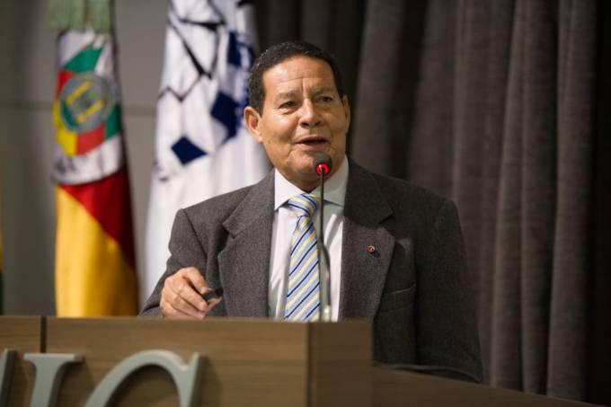 gen Hamilton Mourão (PRTB), vice de bolsonaro