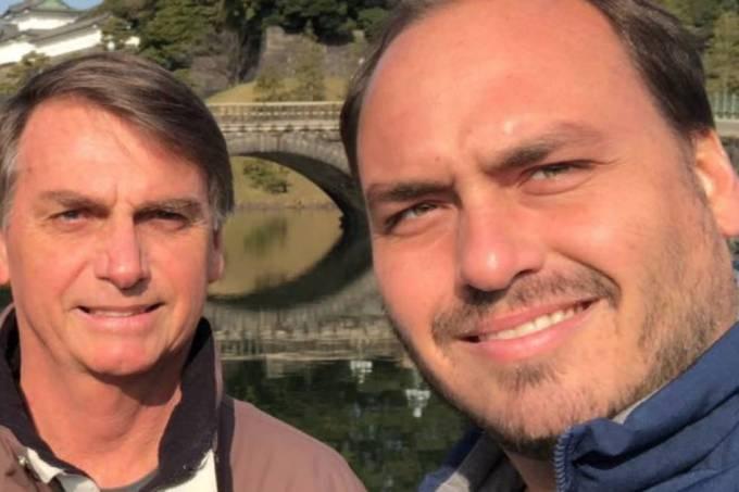 Jair Bolsonaro e Carlos