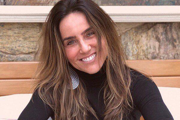 A atriz Monique Curi