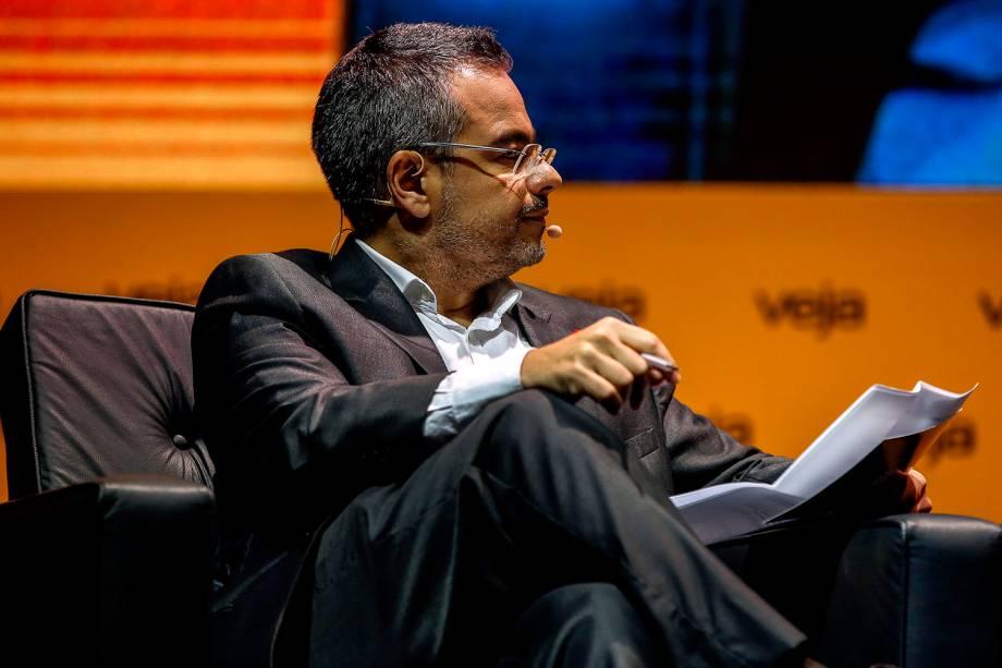 Mauricio Lima, redator-chefe de VEJA, entrevista o candidato João Amoêdo (Novo)