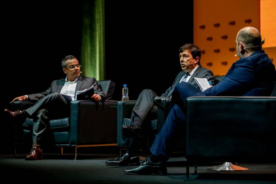 João Amoêdo (Novo), candidato à Presidência da República, foi entrevistado por Mauricio Lima, redator-chefe, e Daniel Bergamasco, editor especial de VEJA, durante o evento Amarelas Ao Vivo