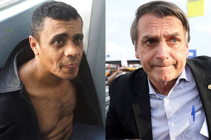 Adélio Bispo de Oliveira e Jair Bolsonaro