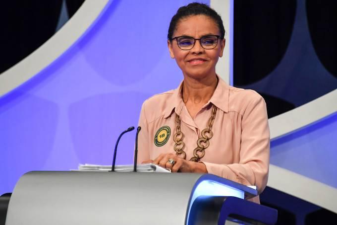 Debate SBT – Marina Silva