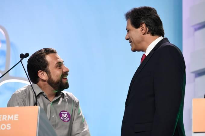 Debate TV Aparecida – Guilherme Boulos e Fernando Haddad