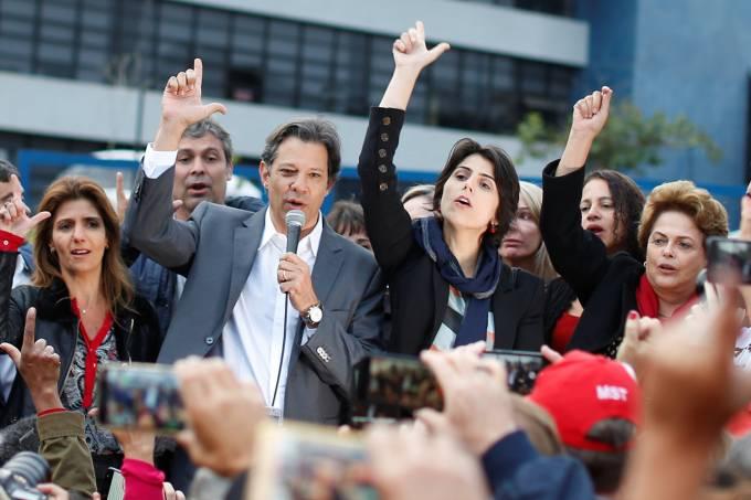 PT oficializa Fernando Haddad como candidato à Presidência