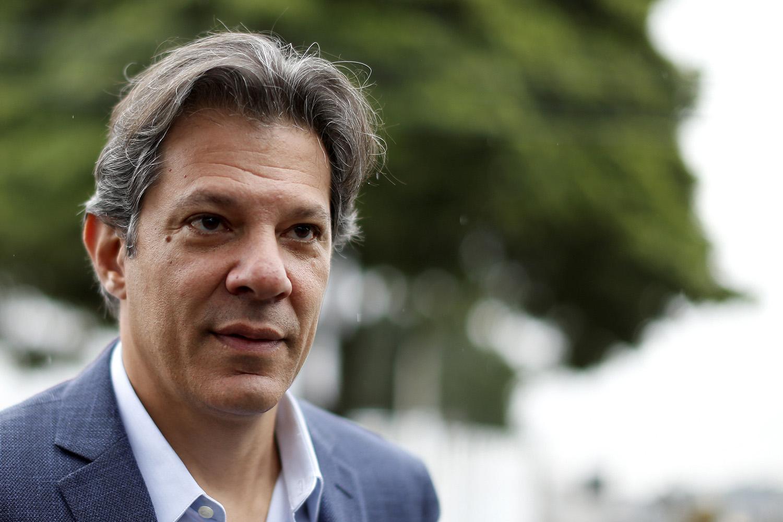 Fernando Haddad candidato do PT à presidência da república