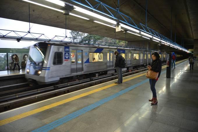 Estação Sumaré da linha verde do metrô de São Paulo