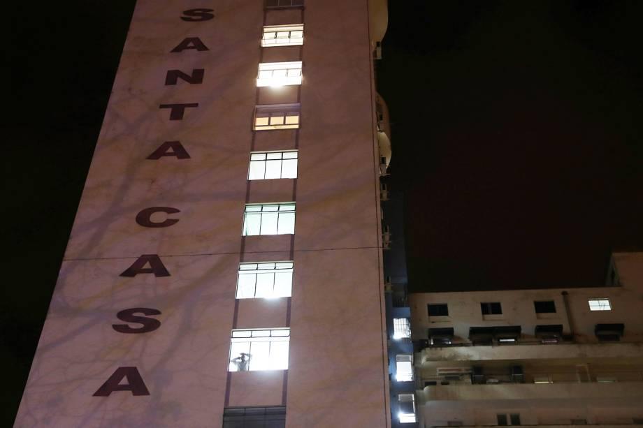 Santa Casa de Juiz de Fora (MG), onde o candidato à Presidência da República, Jair Bolsonaro (PSL), está hospitalizado após sofrer esfaqueamento durante ato de campanha - 06/09/2018