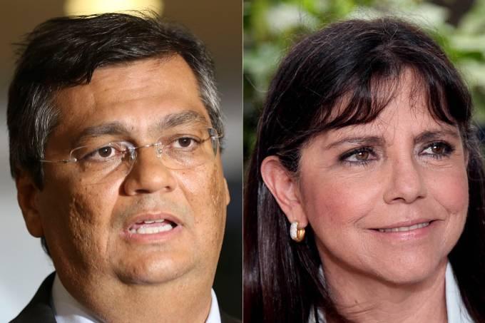Flávio Dino e Roseana Sarney