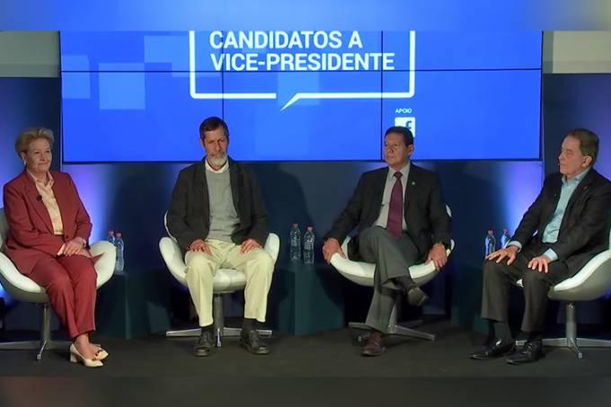 Debate entre candidatos a vice-presidente – VEJA