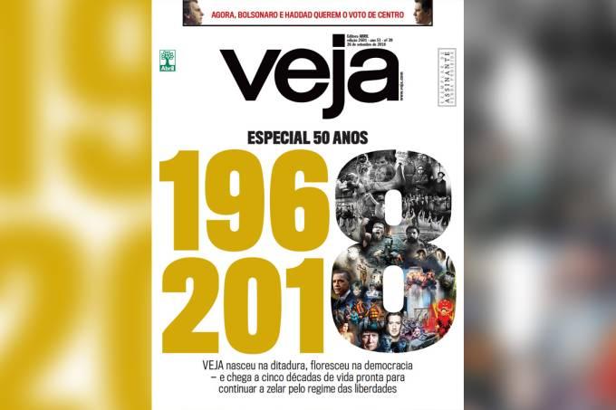 Capa da edição 2601 – Especial 50 anos