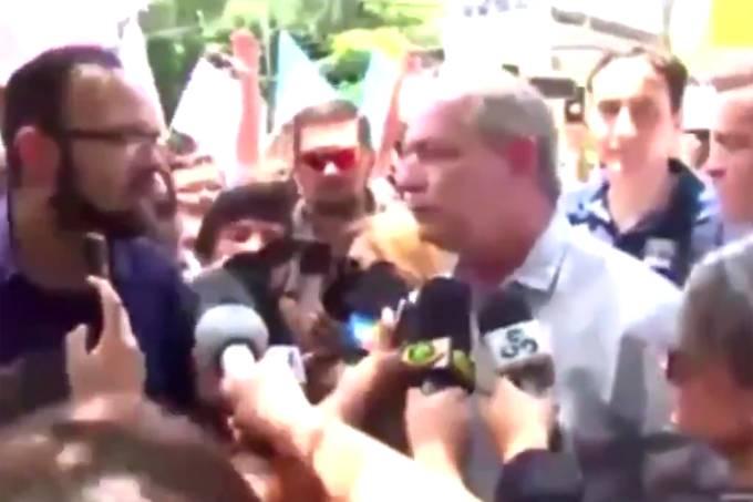 Repórter provoca Ciro Gomes em Roraima