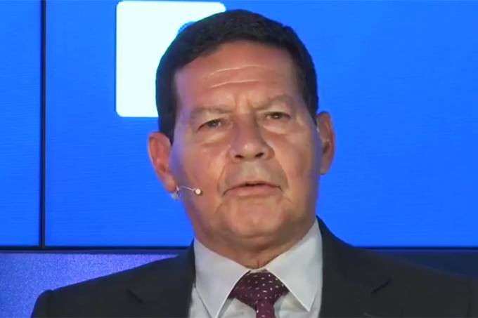 Debate entre candidatos a vice-presidente – Hamilton Mourão
