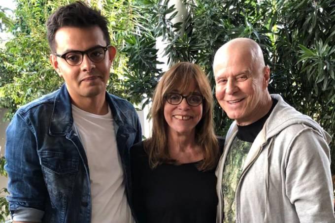 Eduardo Almeida, Gloria Perez e Miguel Falabella: adaptação de história real contada no Twitter vai ganhar a tela da Globo
