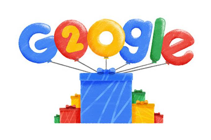 Doodle – Google 20 anos
