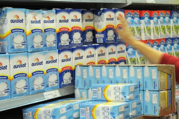 Caixas de leite