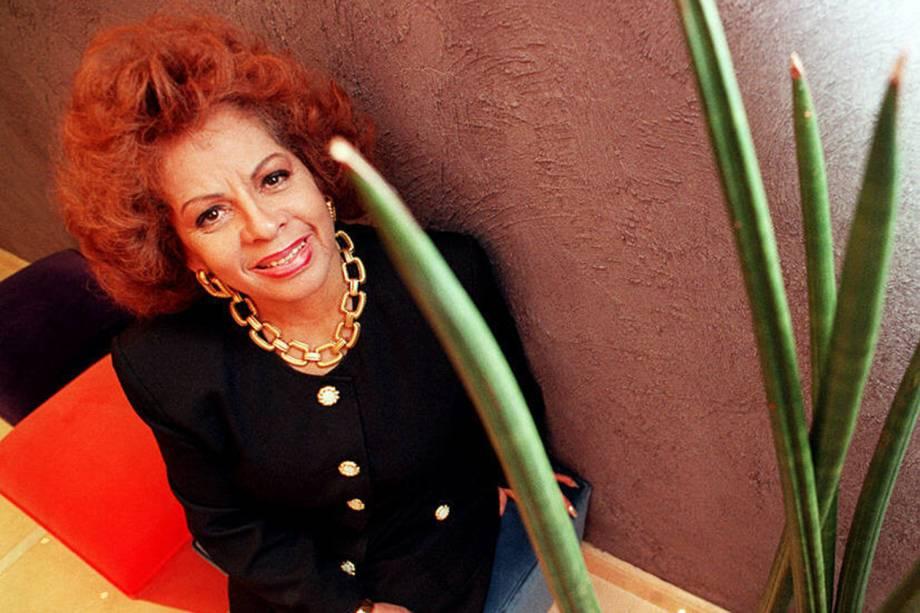 A cantora Ângela Maria - 28/11/1997