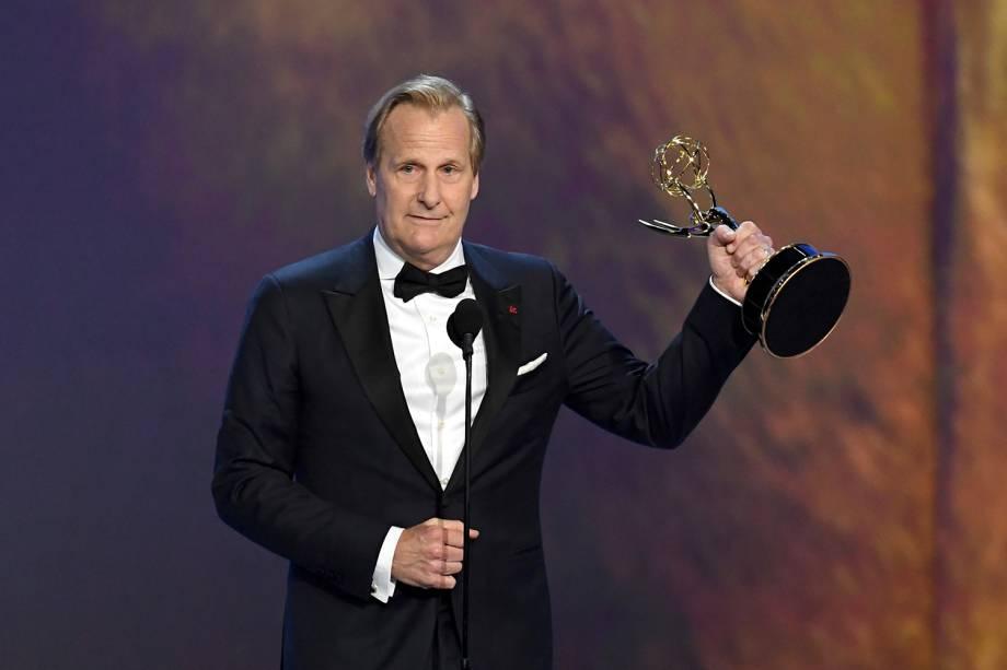 Jeff Daniels vence na categoria de Melhor ator coadjuvante em minissérie ou filme feito para TV - 17/09/2018
