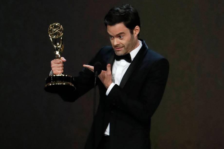 Bill Hader vence na categoria de Melhor Ator em série de comédia, no Emmy Awards - 17/09/2018