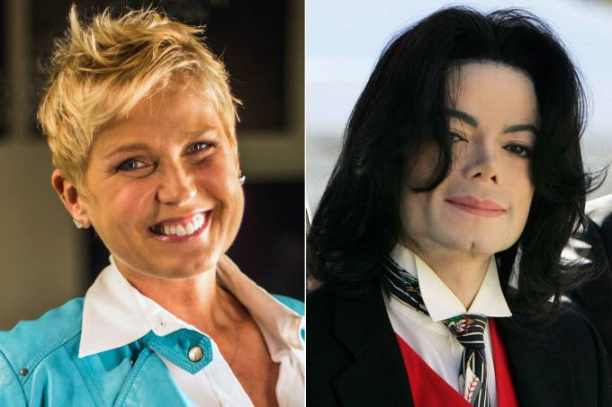 Xuxa e Michael Jackson