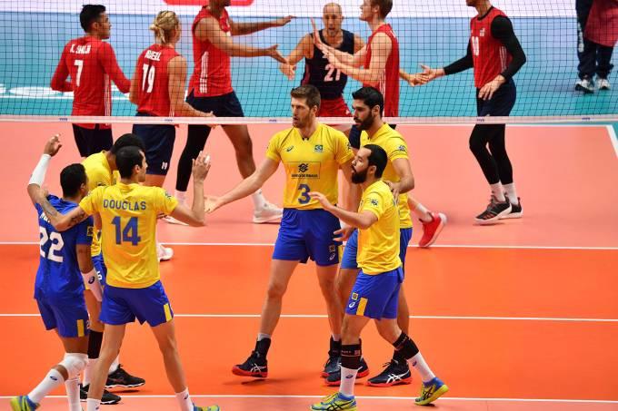 Brasil passa por 3 a 0 da seleção norte-americana