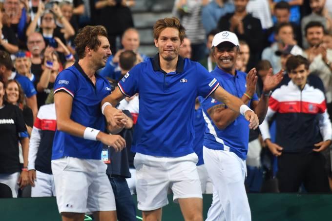 França vence Espanha na Copa Davis