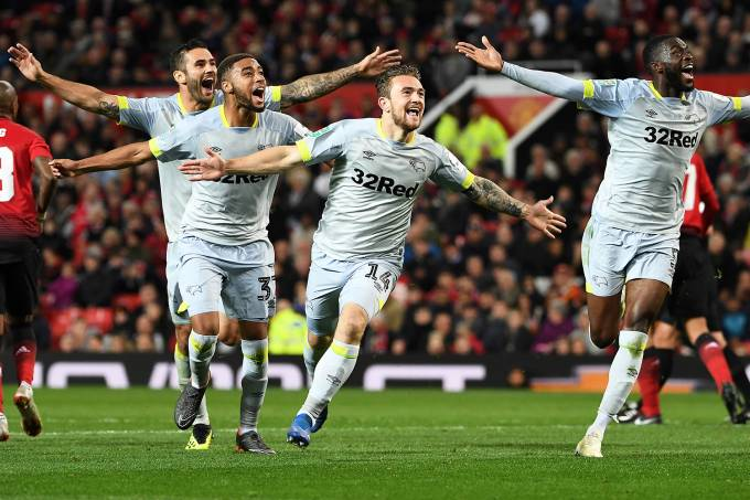 Copa da Liga Inglesa – Manchester United x Derby County