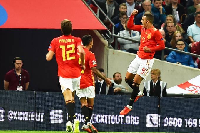 Liga das Nações – Espanha x Inglaterra
