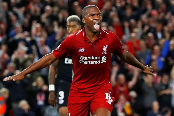 Liverpool x PSG – Daniel Sturridge
