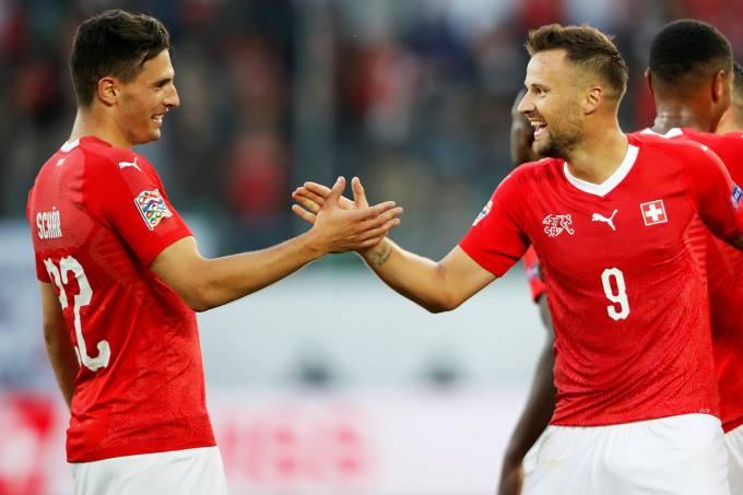 Liga das Nações – Suíça x Islândia