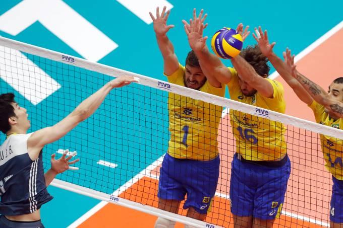 Mundial de Vôlei – Brasil x China