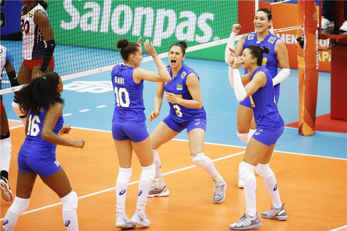 Mundial feminino de Vôlei – Brasil x República Dominicana