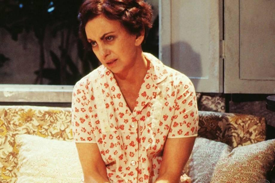 Beatriz Segall na novela 'Champagne', de 1983