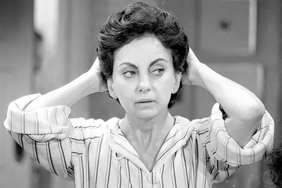 Beatriz Segall em 'Sol de Verão', em 1982
