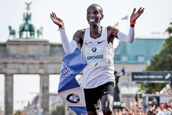 Eliud Kipchoge – Maratona de Berlim