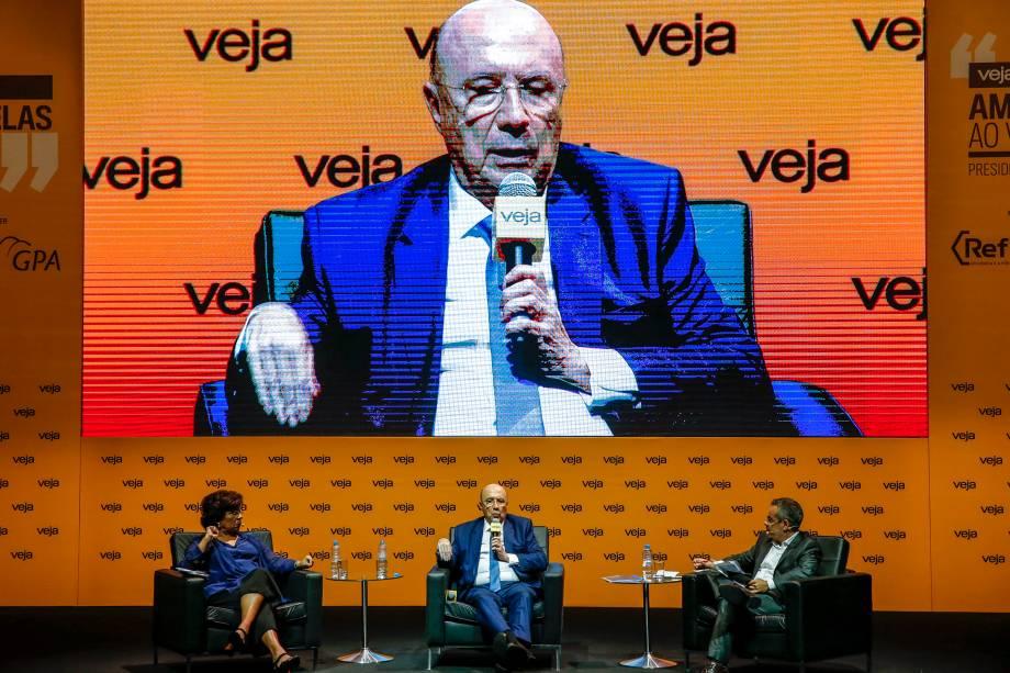 """<span>O presidenciável afirmou haver uma preocupação """"muito grande"""" com a polarização entre dois extremos representados pelas candidaturas de Jair Bolsonaro (PSL) e Fernando Haddad (PT)</span>"""
