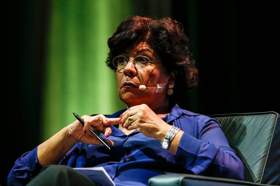 Dora Kramer, colunista de VEJA, entrevista o candidato Henrique Meirelles (MDB)