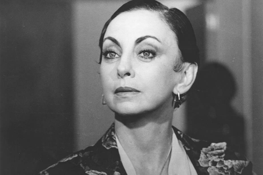 Beatriz Segall na novela 'Água Viva', da Rede Globo, em 1980