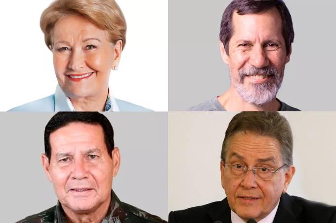 Debate vices – Eleição 2018: Ana Amélia, Eduardo Jorge, Hamilton Mourão e Paulo Rabello de Castro