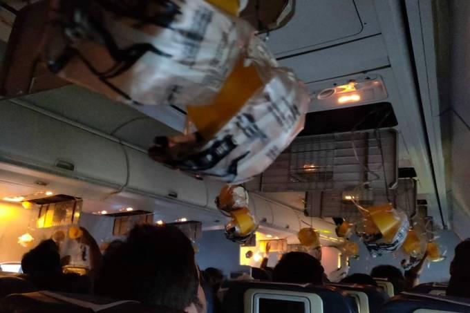 Tripulação de avião da Jet Airways esquece de despressurizar cabine após decolagem